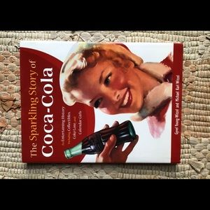 Hardcover Book The Sparkling Story of Coca-Cola